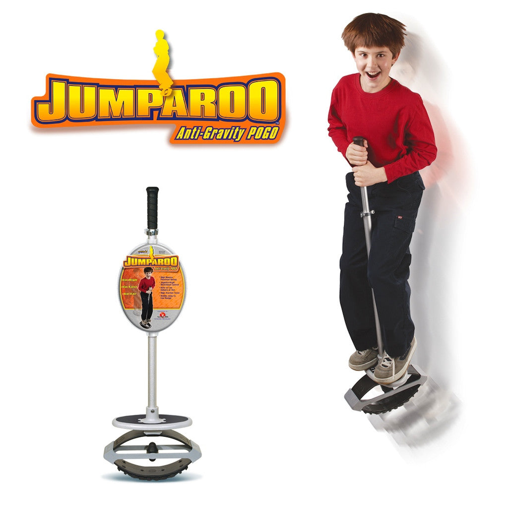 Jumparoo Anti Gravity Pogo Stick Geospaceplay