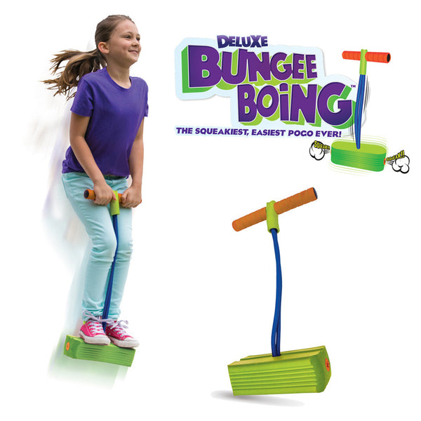 Jumparoo Deluxe Bungee Boing Jump & Squeak Pogo for Kids 3+