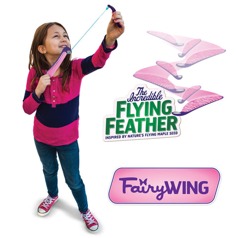 The Incredible Flying Feather - Fairy Wing