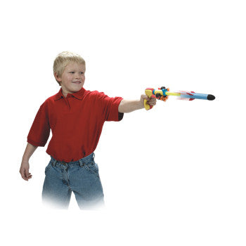 Squeeze Shotz with Mini Foam Rockets & Darts