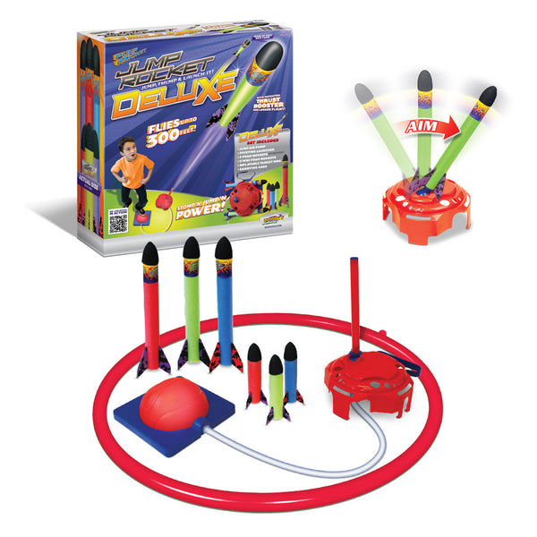 Jump Rocket Deluxe Set with 3 JR + 3 Mini Soft Foam Rockets