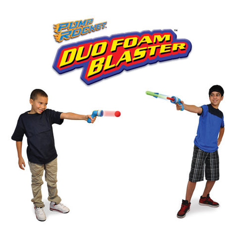 "Duo Foam Blaster with 2 Types of ""Ammo"""