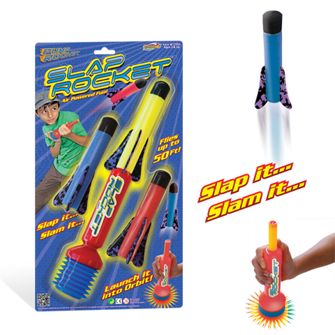 Slap Rocket Set - Includes 3 Rockets