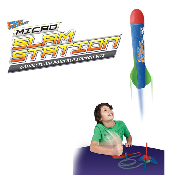 Pump Rocket Micro Slam Station Set