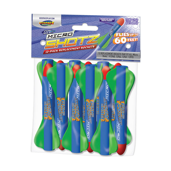 Pump Rocket MICRO Replacement Rockets 12-Pack