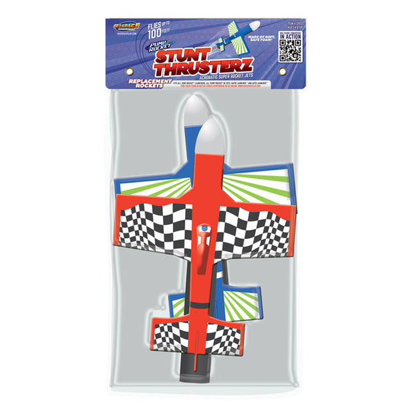 Stunt Thrusterz Acrobatic Jet Rockets 2-Plane Accessory Set for Pump Rocket JR