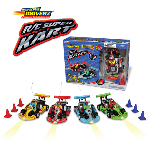 R/C Super Kart (Assorted colors)