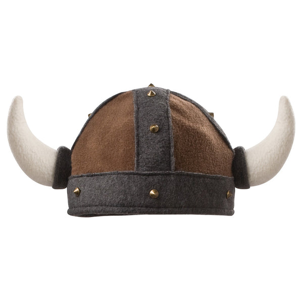 "Beasty Buddies Fleece Hat, Viking Beanie ""Helmet"" with Horns"