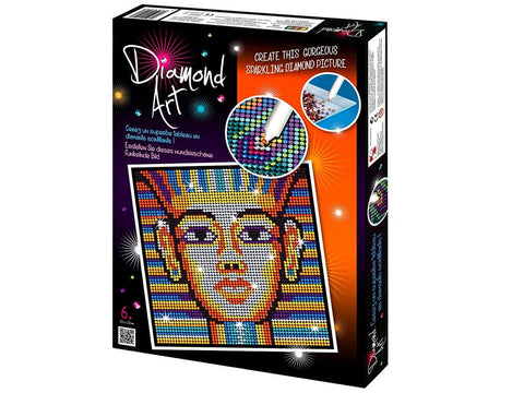 KING TUT Diamond Art Sparkling Crafts Picture Kit