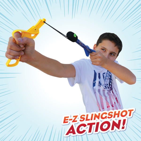 Distance MAXX™ Sling Rockets with Screaming Air Whistle Sound