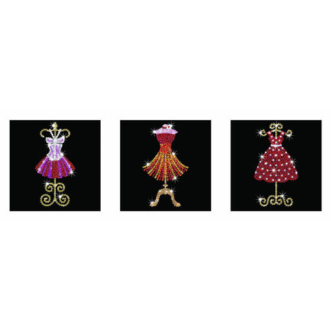 Sequin Art® Style, Mannequins, Sparkling Arts and Crafts Picture Kit