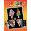 Sequin Art® Orange, Ice Creams, Sparkling Arts and Crafts Picture Kit