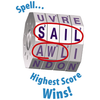 Deluxe WORD SPIN Game - Family Edition
