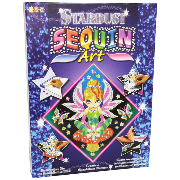 Sequin Art® Stardust, Fairy, Sparkling Arts and Crafts Picture Kit