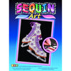 Sequin Art® Blue, Ice Skates, Sparkling Arts and Crafts Picture Kit