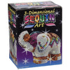3D Sequin Art ELEPHANT Sculpture - Sparkling Arts & Crafts DIY Kit