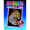 Sequin Art® Blue, Leopard, Sparkling Arts and Crafts Picture Kit