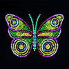 Sequin Art® Style, Three Butterflies, Sparkling Arts and Crafts Picture Kit