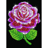 Sequin Art® Blue, Red Rose, Sparkling Arts and Crafts Picture Kit
