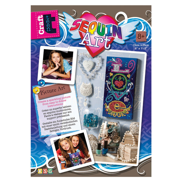 Sequin Art® Craft Teen, Love, Sparkling Arts and Crafts Picture Kit