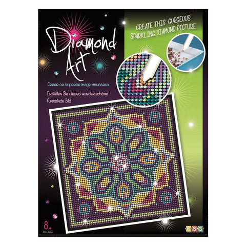 Sequin Art® DIAMOND ART, Pattern, Sparkling Arts and Crafts Picture Kit