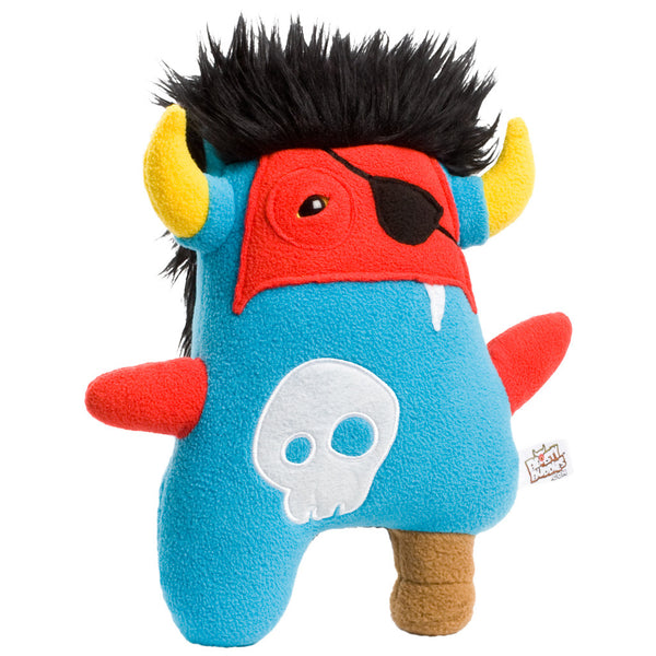Beasty Buddies Pirate ZORLAG Plush Monster
