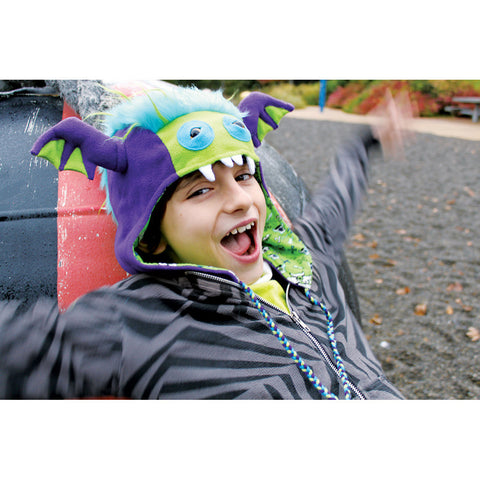 Beasty Buddies BUMBLEZOR Fleece Monster Hat
