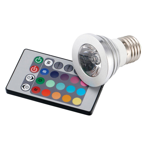 LED Lamp, RGB Bulb & Remote