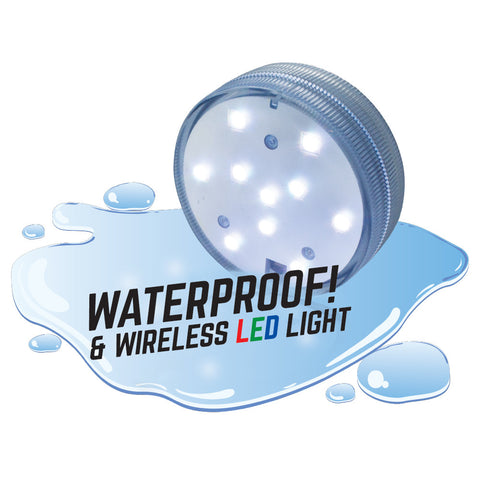 Geosphere™ XL LED Puck Light with Wireless Remote Kit