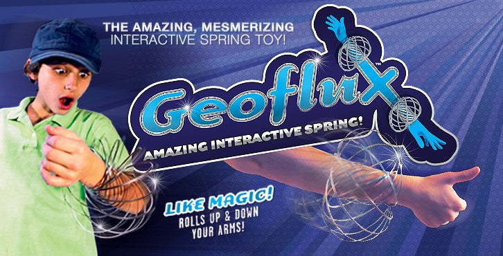 Geoflux, Interactive Spring, Amazing Mesmerizing, sculpture