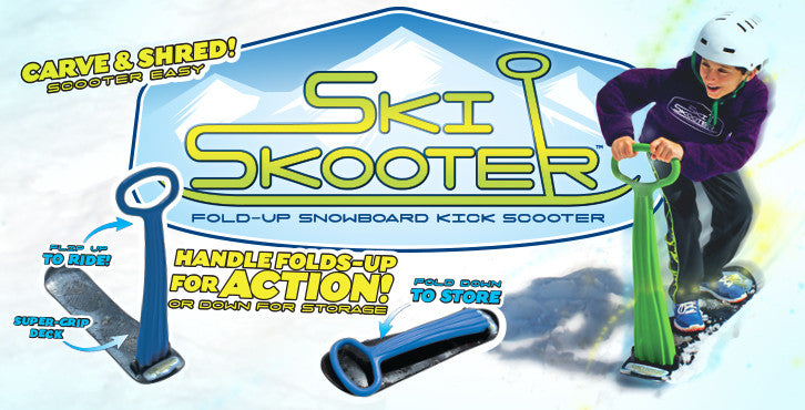Ski Skooter, Active Play, Snowboard, Snow, Outdoors
