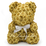 Gold Rose Bear