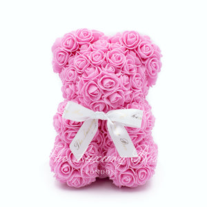 Pink Small Rose Bear