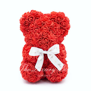 Small Red Rose Bear