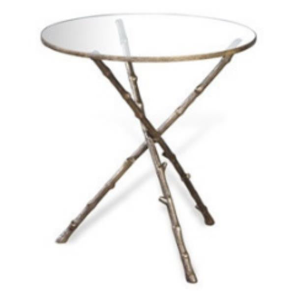 Cypress Twig Round Side Table