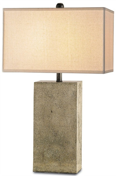 Concrete - Symbol Table Lamp