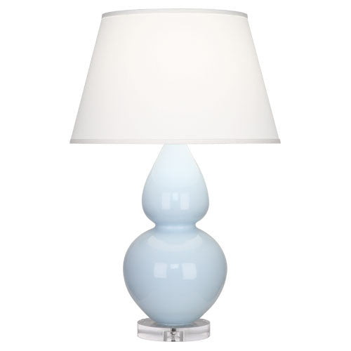 Double Gourd Lamp, Baby Blue