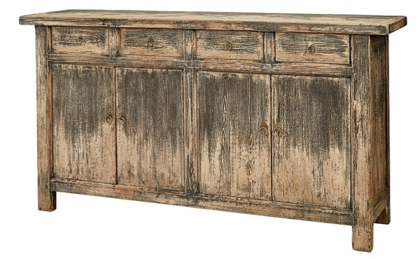 Adelaide Sideboard - Distressed Black, 71""