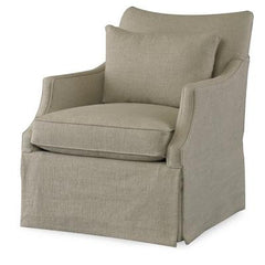Azriel Club Chair - Skirted Base