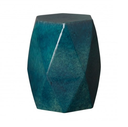 Garden Stool - Brilliant Matrix Teal
