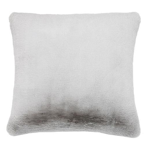 Faux Fur - Baxter Pillow, Silver