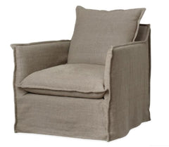 1297 - 01 Chair, Slip-cover only