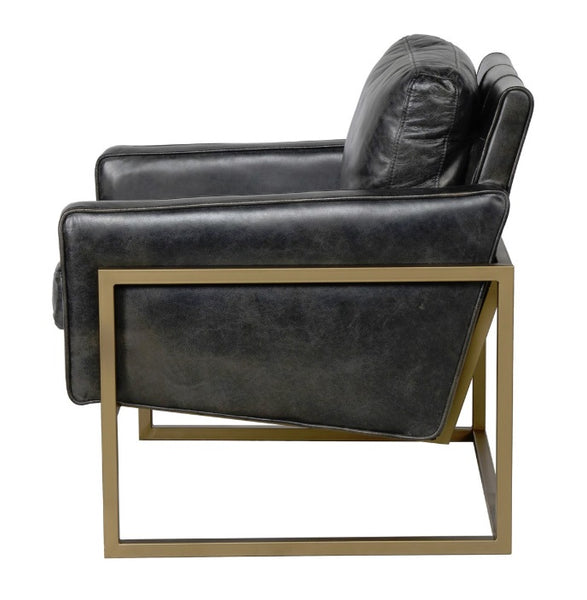 Leather, Ken Club Chair