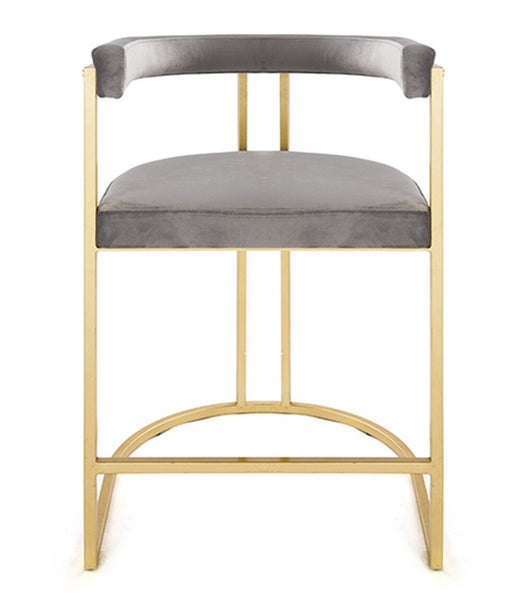 Dining - Counter Stool; Cromwell - Gold/Grey