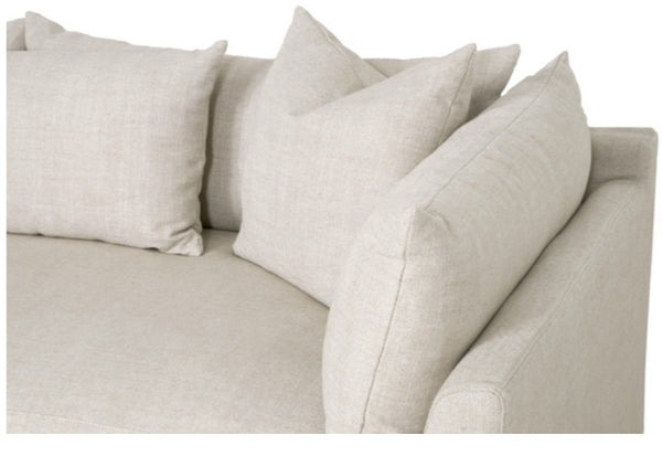 Haven Sofa, 95W Only Slipcover / Linen Blend