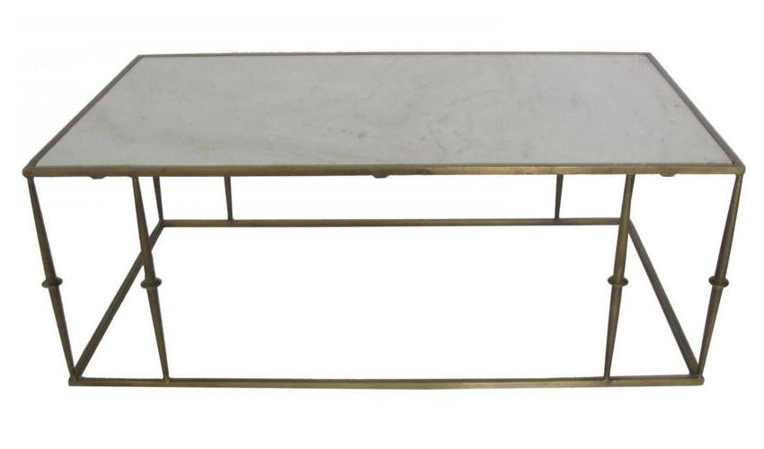 Glam Marble Top Coffee Table Stanton Home Furnishings