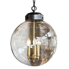 Large Globe 3-Light Pendant