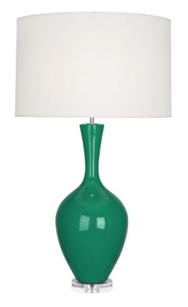 Audrey Table Lamp - Emerald