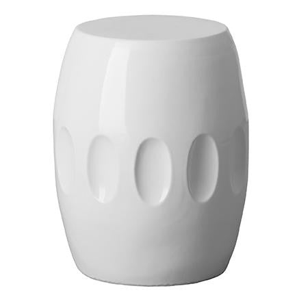 Orion Stool, White