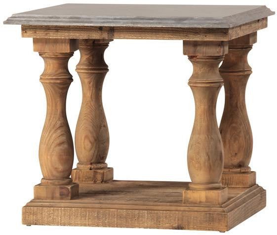 Palermo Stone Top End Table